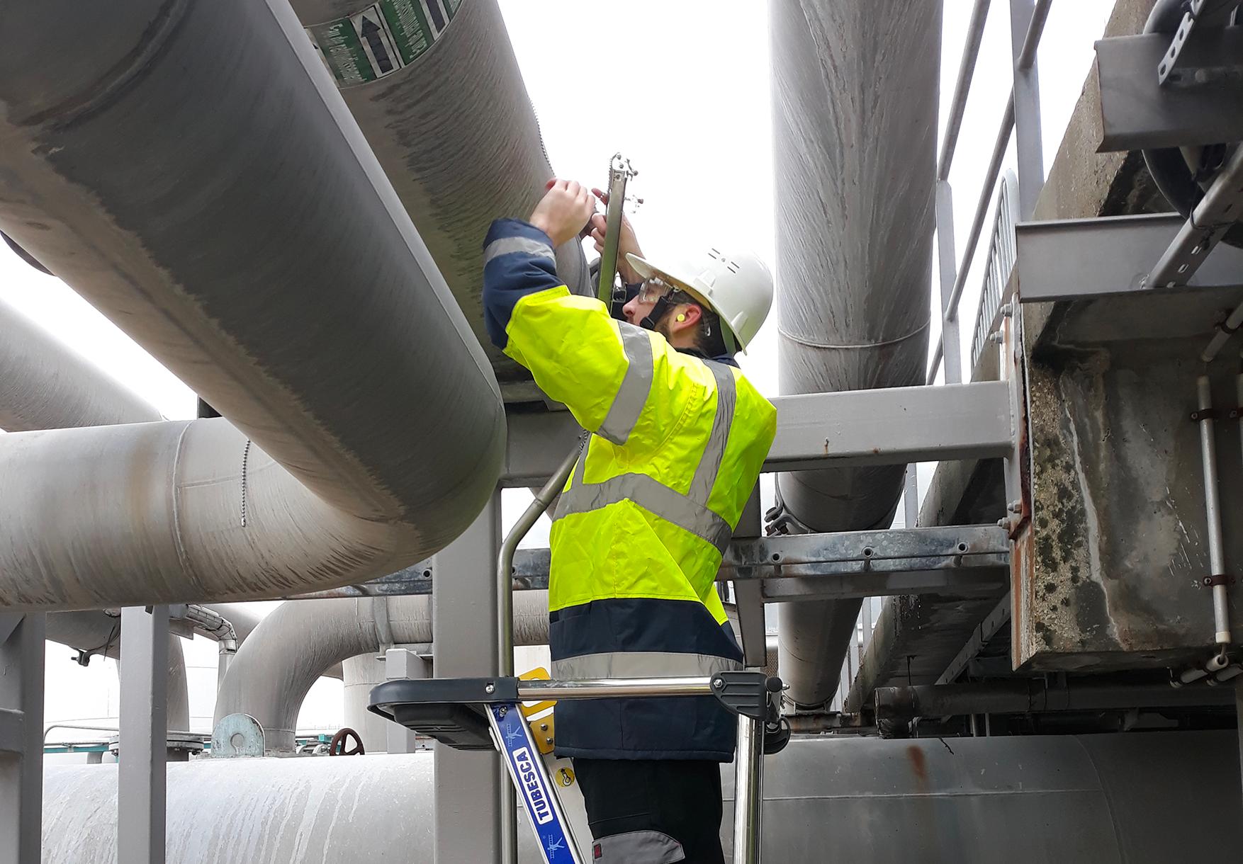 Mise en place de moyens de mesures sur réseau d'eau de refroidissement dans le cadre d'un audit