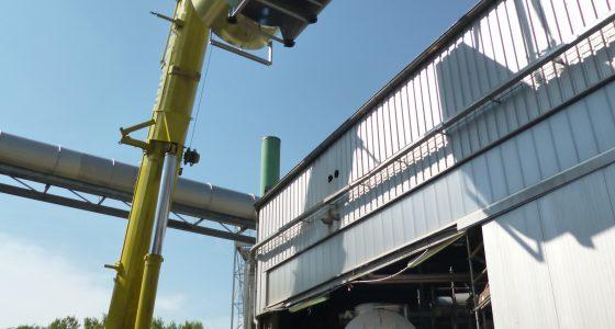 Manutention d'un ventilateur de tirage pour chaudière vapeur de récupération