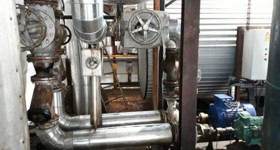Pompe de distribution fluide thermique