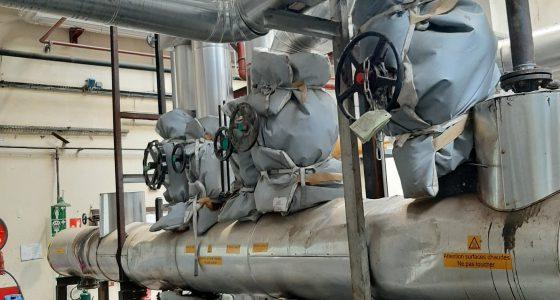 reseau de distribution fluide thermique