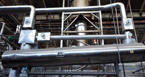 réseau de distributuion de fluide thermique
