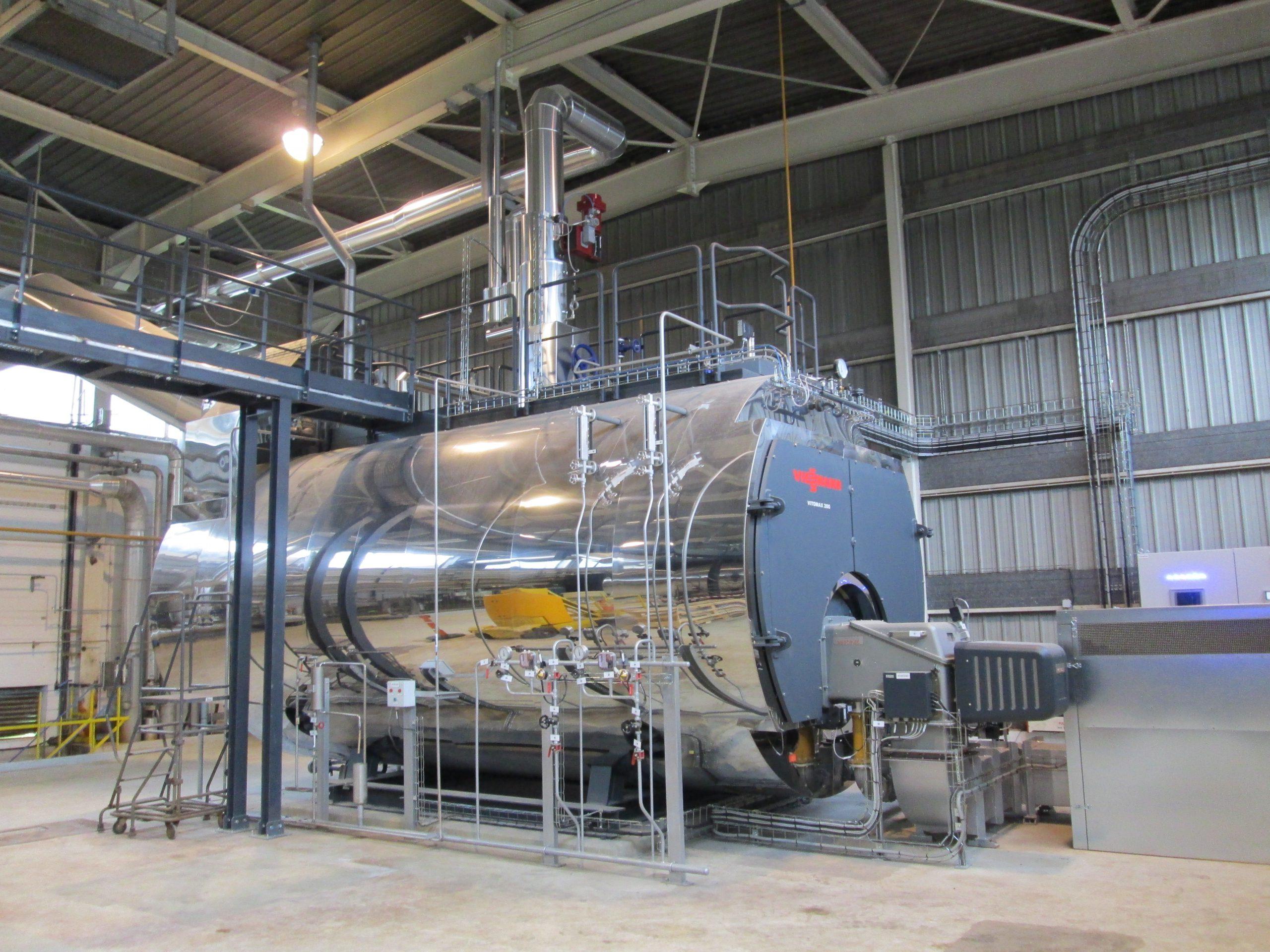 chaudière vapeur 14 t/h