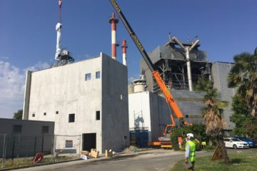 Manutention d'un hydrocondenseur