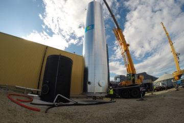cuve stockage énergie 100 m3